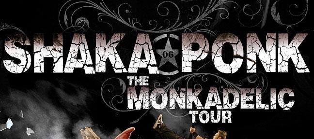 Shaka Ponk   The Monkadelic Tour