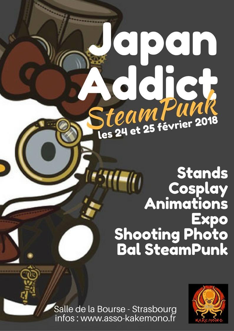 Japan Addict Pocket  :  SteamPunk