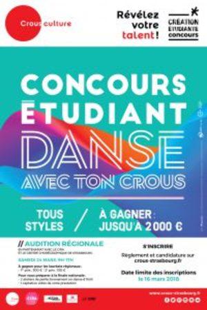 Audition régionale : Danse avec ton CROUS (sur inscription)