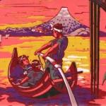 Japonismes, l'Empire du Soleil levant dans le papier peint de 1860 à nos jours