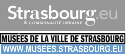 Nouveaux horaires d ouverture des mus es de strasbourg coze magazine l 39 agenda culturel alsacien - Horaire piscine wacken strasbourg ...