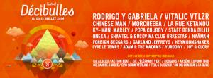 Festival Décibulles 2014 : la programmation complète !
