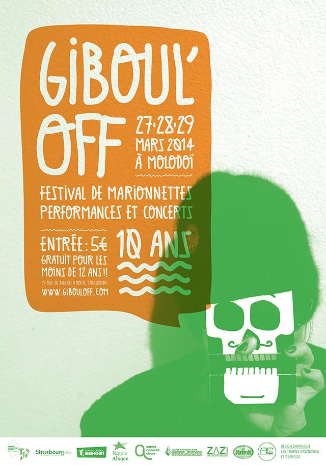 affiche Giboul'off 2014