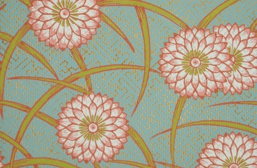 Japonisme l empire du soleil levant dans le papier peint coze magazine - Papier peint fleur de cerisier japonais ...