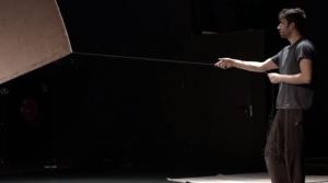 Extraits vidéo des répétitions de Profils de Renaud Herbin et Christophe Le Blay