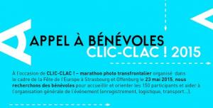 Appel à bénévoles : Clic-Clac ! Marathon photo transfrontalier