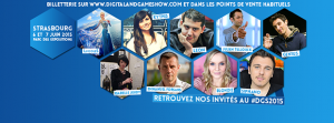 Digital & Game Show 2015 : le programme !