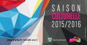 Programme Saison 2015/16 du PréO