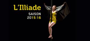 Programme Saison 2015/16 de L'Illiade (Illkirch-Graffenstaden)