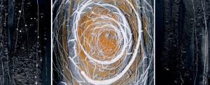 BLESSURE – installation,peinture,dessin de Claude Braun