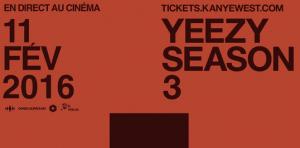 Concert événement de Kanye West au cinéma Vox le 11 février
