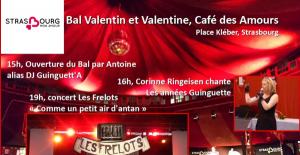 Bal de Valentin & Valentine –   Dimanche 14 février de 15h à 21h
