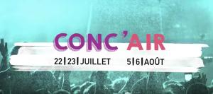 Teaser : Festival Conc'Air 2016