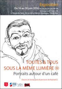 TOUTES ET TOUS SOUS LA MÊME LUMIERE – Portraits autour d'un café