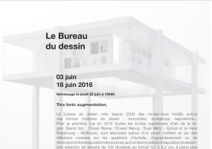 « TRÈS FORTE AUGMENTATION » – LE BUREAU DU DESSIN