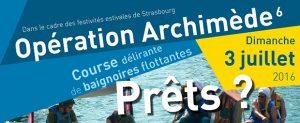 Opération Archimède – La course délirante de baignoires flottantes