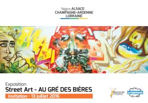 Street Art – AU GRÉ DES BIERES