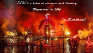 FARSe 2016 – le festival des arts dans la rue de Strasbourg – Du 12 au 14 août – La Programmation