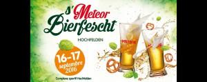 S'Meteor Bierfescht – Les S'Meteor Bierfescht les 16 et 17 Septembre 2016