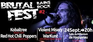 Brutal Bains Rock Fest #2 : les groupes les plus sauvages des Bains Rock sur scène