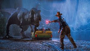 Les dinosaures de Steven Spielberg débarquent au pied de la Cathédrale de Strasbourg