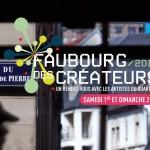 Faubourg des créateurs 2016 un parcours artistique le 1er et 2 octobre