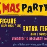Noël est aussi sur scène avec la X-Mas Party