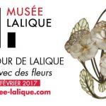 Un amour de Lalique, dites-le avec des fleurs