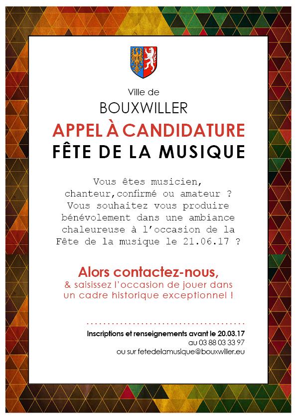 2017 - FM Appel à candidature