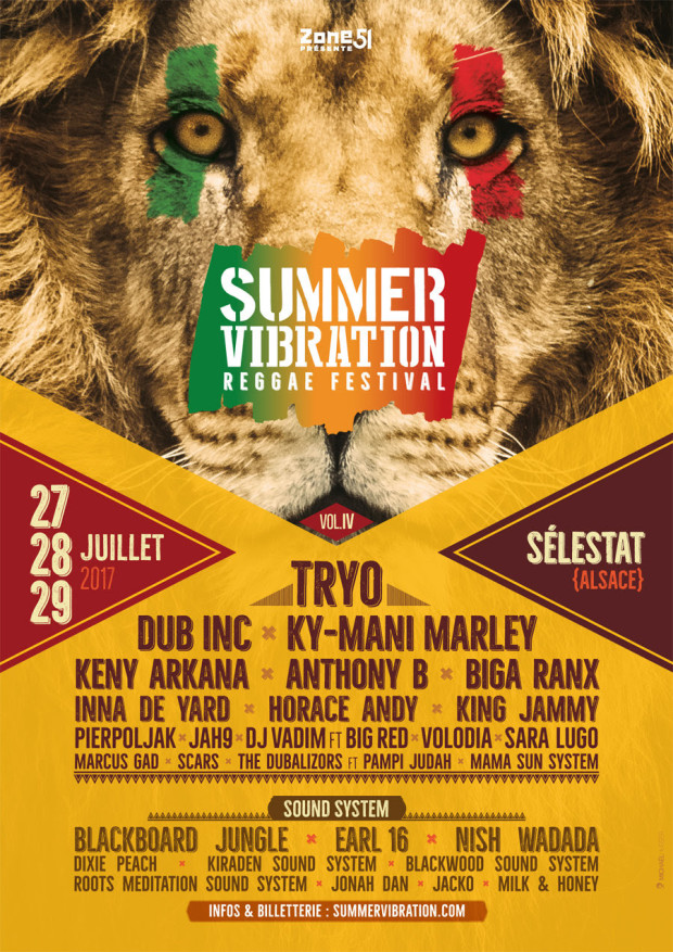 SUMMER VIBRATION REGGAE FESTIVAL2017