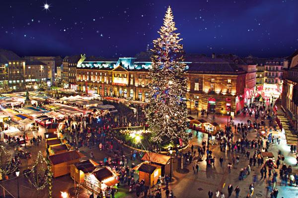 marché noel strasbourg date Le Marché de Noël 2017 de Strasbourg se tiendra du 24 novembre au  marché noel strasbourg date