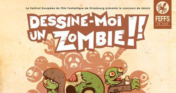 Concours de dessin organisé par le Festival Européen du Film Fantastique de Strasbourg