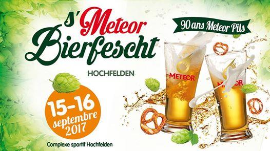 Après le succès de la dernière édition de la fête de la bière Meteor, la « S'Meteor Bierfescht » est de retour à Hochfelden, les 15 et 16 septembre !