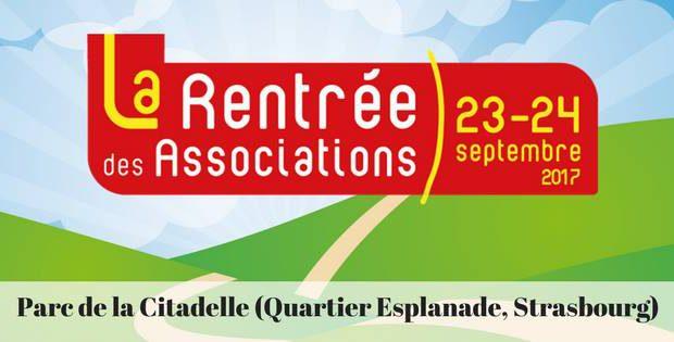 La Rentrée des Associations se tiendra les 23 et 24 septembre au Parc de la Citadelle