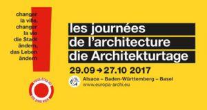 Cette année encore, la Maison Européenne de l'Architecture - Rhin Supérieur, organise son festival tri-national « Les Journées de l'Architecture » dans une vingtaine de villes en France, en Allemagne et en Suisse.