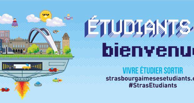 Cette année, c'est la 8e édition de « Strasbourg aime ses étudiants/es », dispositif d'accueil et d'information porté par la Ville et l'Eurométropole de Strasbourg.