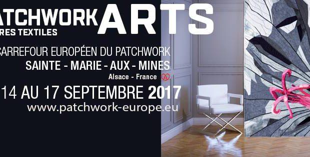 Du 14 au 17 septembre 2017, se tiendra à Sainte-Marie-Aux-Mines la 23ème édition du Carrefour Européen du Patchwork.
