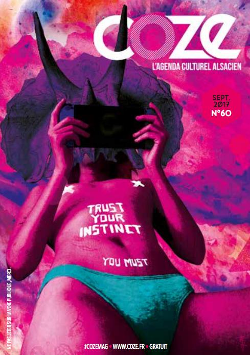 Découvrez l'interview de notre artiste du mois, Gauthier Humbert, qui a réalisé la couverture du #60 de Coze Magazine !