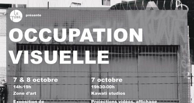 Pour accompagner l'exposition collective de Jean-Baptiste Barra, Elsa Bouvier et Timothée Engasser, en collaboration avec l'association Le Tube, qui se tiendra à la Zone d'Art les 7 et 8 octobre, Occupation Visuelle investit le Kawati Studios le 7 octobre, à partir de 19h.