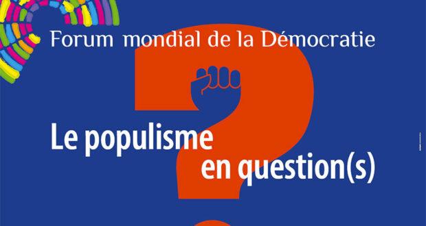 Cette année, le programme Off du Forum Mondial de la Démocratie de Strasbourg fait une large place aux évènements qui permettent d'être acteur de la réflexion grâce à l'aménagement de l'Aubette en Agora, ouverte au public du 3 au 10 novembre.