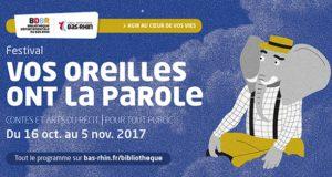 Le Festival Vos Oreilles Ont La Parole est de retour, du 16 octobre au 5 novembre 2017.
