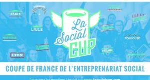 La 4ème édition de la Social Cup, concours d'entreprenariat social organisé par MakeSense, KissKissBankBank et La Banque Postale, est lancée à travers la France ! Elle débarque à Strasbourg, le samedi 18 novembre, au Shadok, pour une journée de développement de projets à fort impact et à fort potentiel : la SenseFiction !