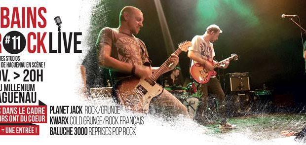 Les studios des Bains Rock de Haguenau organisent, le samedi 18 novembre, la 11ème édition des Bains Rock Live, au Millénium.