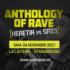 Audiogenic vous convie, le samedi 4 novembre 2017, le temps d'une nuit inédite à La Laiterie, à un retour sans concession aux sources du mouvement Rave, bercé par les basses Techno, Tribe, Jungle, Breakbeat, Hard Beat et Trance...