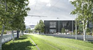 Ce jeudi 26 octobre, la première pierre du projet du nouveau Théâtre du Maillon a été posée.
