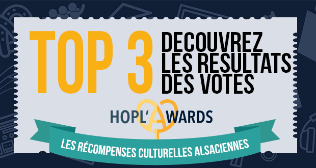 Hopl'Awards 2017 : Les TOP 3 des votes du public