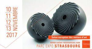 Le salon européen des métiers d'arts Résonance[s], organisé par la Frémaa, aura lieu, cette année, du 10 au 13 novembre 2017, au Parc des Expositions de Strasbourg.