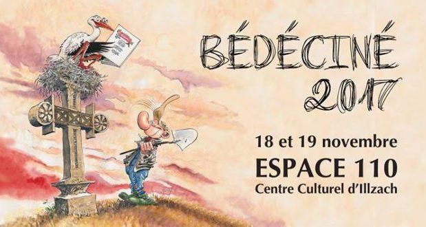 Rendez-vous à l'Espace 110 d'Illzach, les 18 et 19 novembre pour le festival de la Bande Dessinée, Bédéciné.