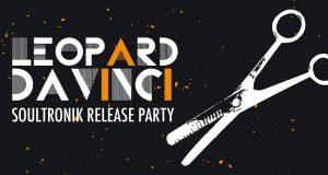 Leopard DaVinci vous invite à venir fêter la sortie du son 1er maxi vinyle, sur le label Soultronik, le samedi 20 décembre au Mudd Club.