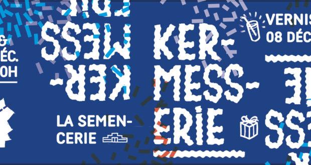 L'atelier d'artistes la Semencerie vous invite à célébrer Noël, à l'occasion de La Kermesserie, les 9, 10 et 16, 17 décembre, de 14h00 à 20h00.